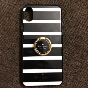 Kate Spade iPhone X Case With Ring Holder